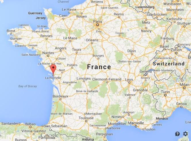Where-is-La-Rochelle-on-map-of-France