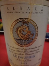 2012 le Dauphin Pinot Gris